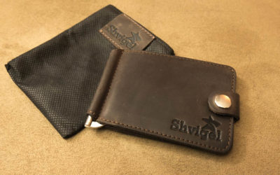 Shvigel Leather Minimalist Wallet